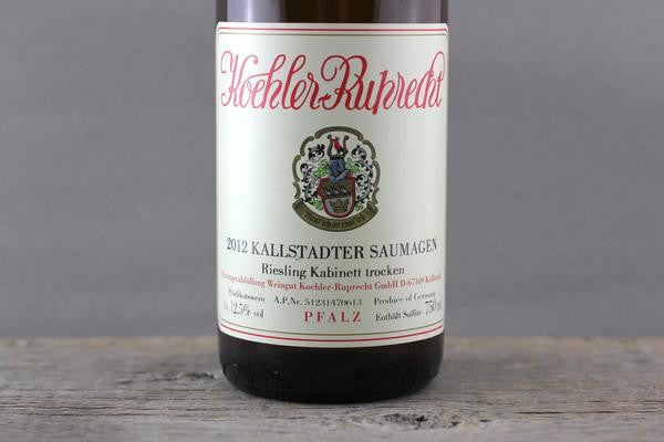 Dry Riesling Wizardry: Drops of Gold from Koehler-Ruprecht