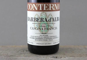 Giacomo Conterno 1964 Through 2016:  Barbera, Barolo, & Monfortino