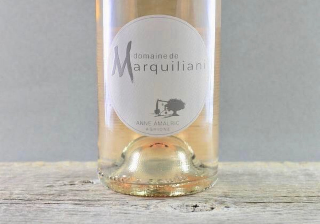 2018 Marquiliani Rosés of Sciaccarellu:  Corsican Featherweight Champion of the World