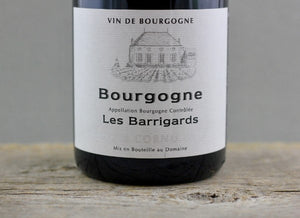 Red Burgundy Secret of '16:  Cornu Bourgogne Rouge Les Barrigards