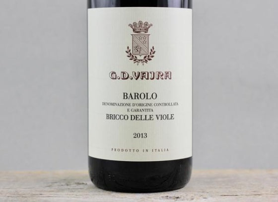 Catching Fire: G.D. Vajra 2013 Barolo