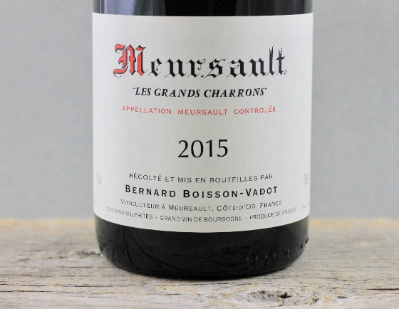 2015 White Burgundy Cult Classic: The Whisper of Boisson-Vadot
