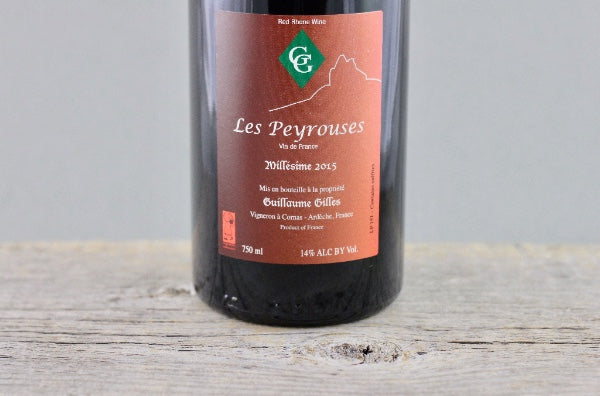 Century Mark Secret Syrah: 2015 Gilles Les Peyrouses Vin de France