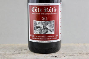 Syrah's Wildest Side:  Jean-Michel Stephan Côte Rôtie