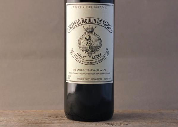 Baby Margaux for the Ages:  2015 Chateau Moulin de Tricot Haut-Médoc