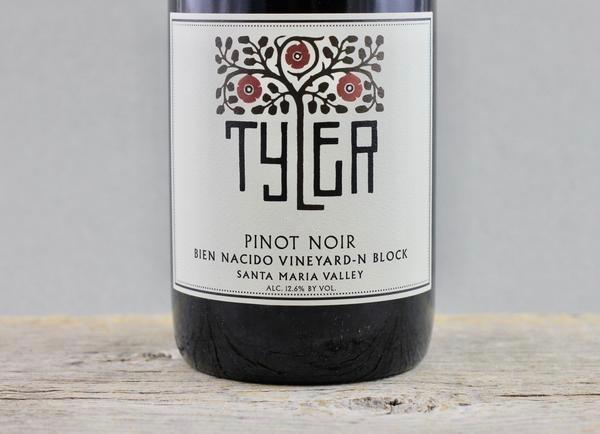 Ungrafted & Unparalleled:  Tyler Bien Nacido N-Block Pinot Noir