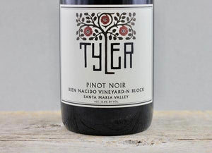 Ungrafted & Unparalleled:  2017 Tyler Bien Nacido N-Block Pinot Noir