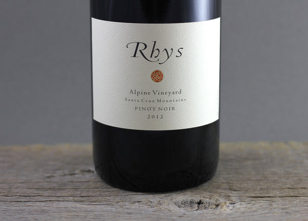 2012 Rhys Alpine Vineyard Pinot Noir