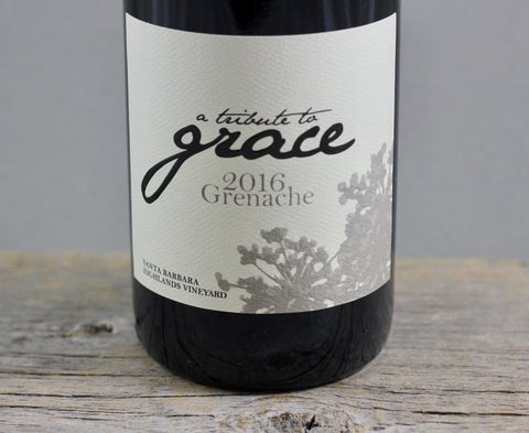 2016 A Tribute to Grace Santa Barbara Highlands Grenache