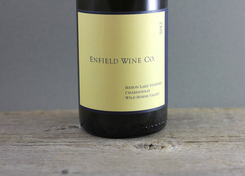 2012 Enfield Wine Co. Heron Lake Chardonnay
