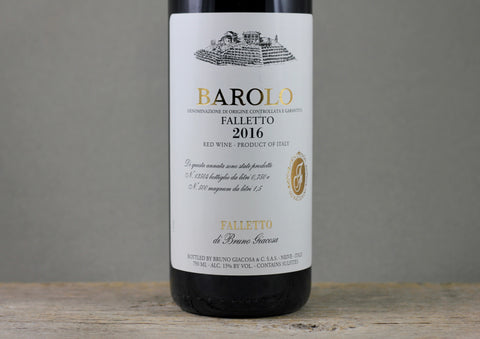 2016 Bruno Giacosa Barolo Falletto