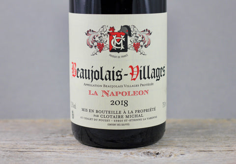2018 Clotaire Michael Beaujolais-Villages La Napoleon