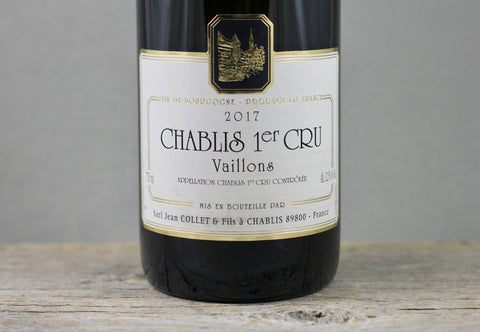 2017 Jean Collet Chablis 1er Cru Vaillons