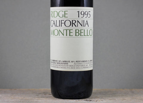 1995 Ridge Monte Bello