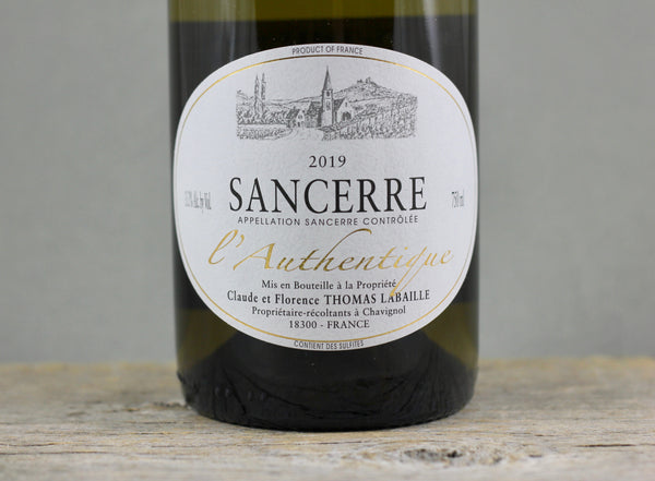 2019 Thomas Labaille Sancerre l'Authentique