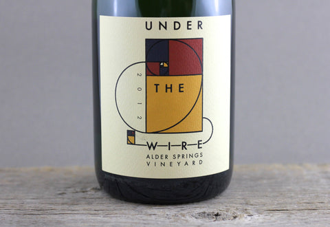 2012 Under the Wire Alder Springs Vineyard Sparkling Wine