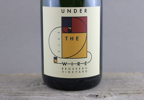 2012 Under the Wire Brosseau Vineyard Sparkling Wine