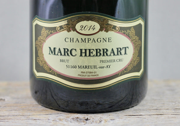 2014 Marc Hebrart Special Club Brut Champagne