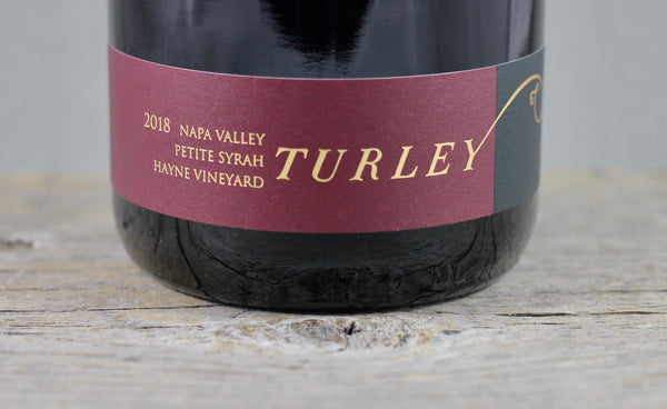 2018 Turley Hayne Vineyard Napa Valley Petite Syrah