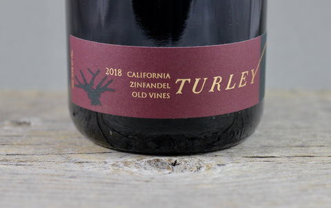 2018 Turley California Old Vines Zinfandel