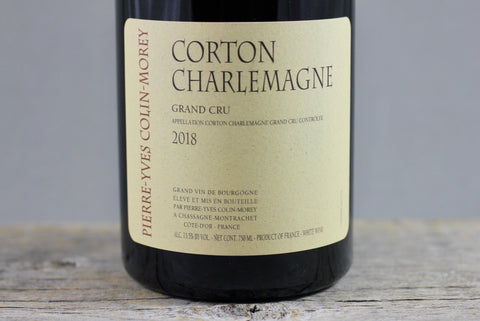 2018 Pierre Yves Colin-Morey Corton Charlemagne