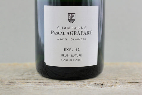 Agrapart Experience 12 Blanc de Blancs Brut Nature Champagne NV