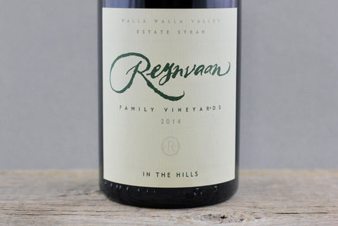 2014 Reynvaan In the Hills Estate Syrah