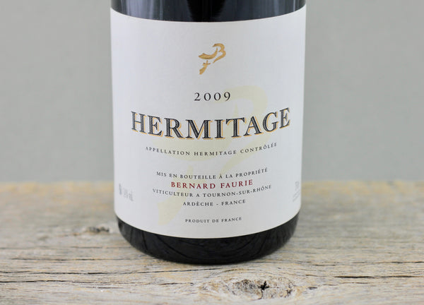 2009 Faurie Hermitage Gréffieux-Bessards (Cream capsule)