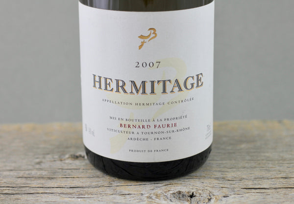 2007 Faurie Hermitage Bessards-Le Méal (Gold capsule)