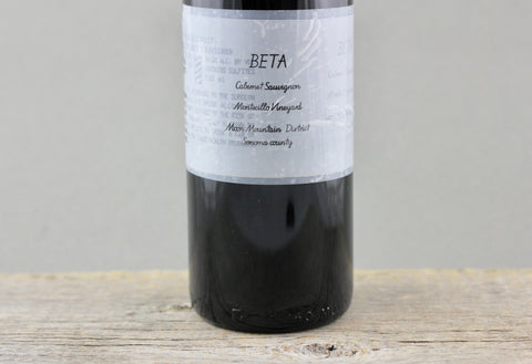 2012 Beta Montecillo Vineyard Cabernet Sauvignon