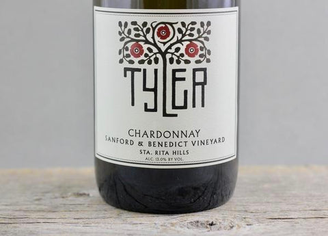 2016 Tyler Sanford and Benedict Chardonnay