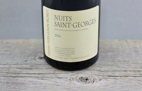 2016 Pierre Yves Colin-Morey Nuits Saint Georges
