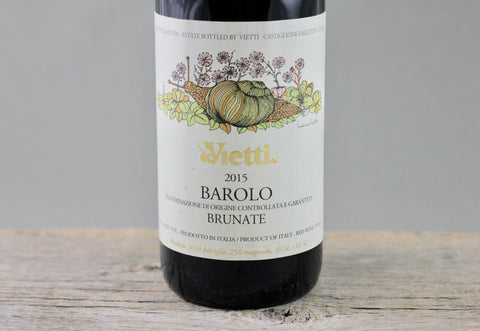 2015 Vietti Barolo Brunate