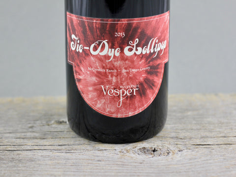 2013 Vesper Vineyards Tie-Dye Lollipop