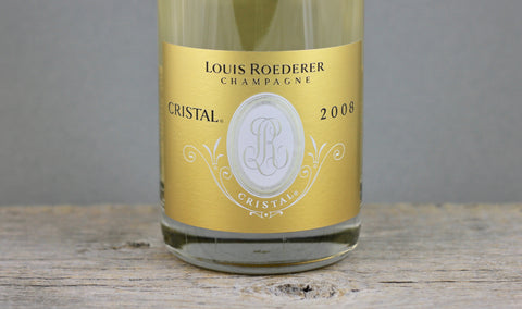 2008 Louis Roederer Cristal Champagne