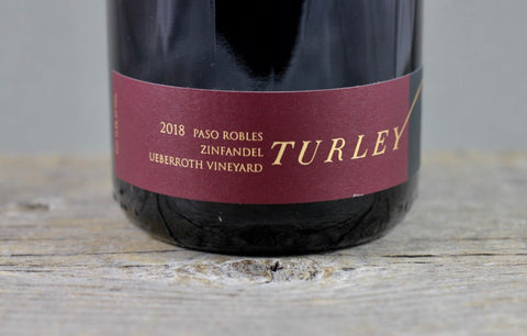 2018 Turley Ueberroth Vineyard Zinfandel