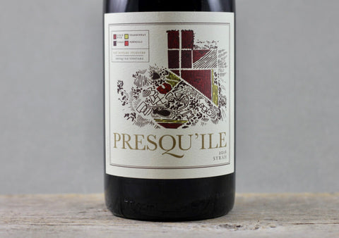 2016 Presqu'ile Santa Maria Valley Estate Syrah