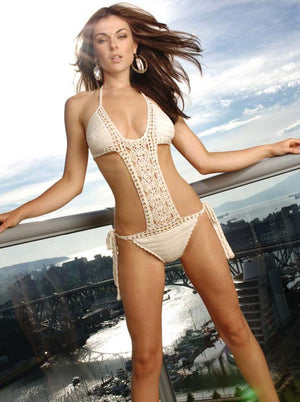 Filigree Beaded Monokini