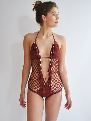 Seashore Angel Monokini