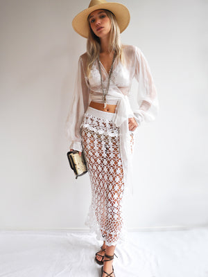 Mermaid Maxi Skirt