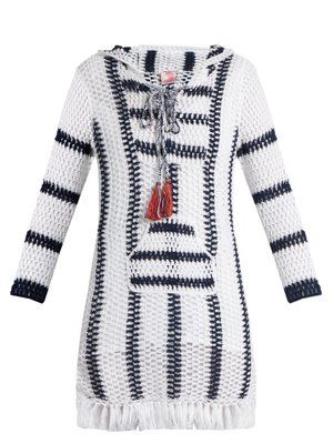 Cape Cod Hoodie Dress Tunic