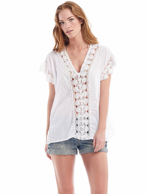 Filigree Caftan Top