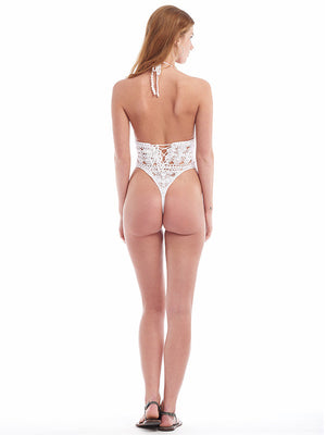 Filigree Monokini - Brazilian Bottom