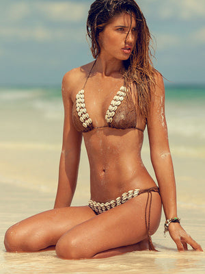 Seashore Angel Bikini Top