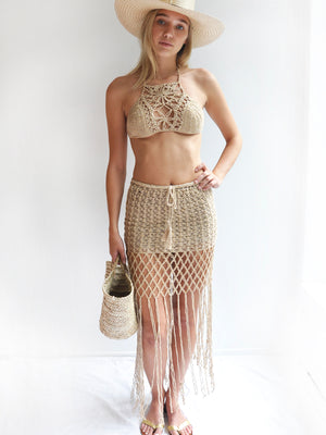 Gypsy Princess Skirt, Gold