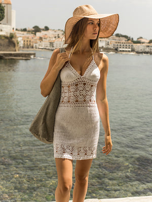 Filigree Mini Dress