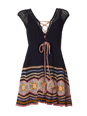 Janice Mini Dress, Black