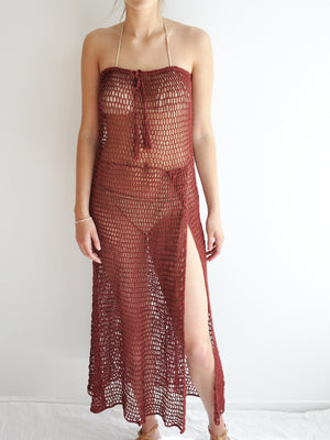 Zen Mesh Maxi Skirt/Dress