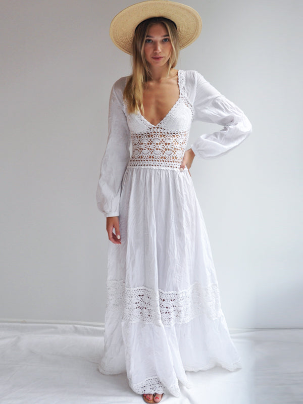 992b20ec20 Destination Bohemian Wedding and Bridesmaids Dresses - annakosturova