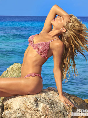 Filigree Bikini Brazilian Bottom